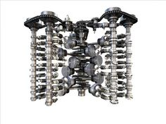 Volkswagen 6.0lt W12 608hp engine