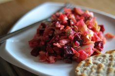 Russian Root Vegetable Salad-Vinegrette