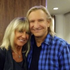 FLEETWOOD MAC NEWS: Photo: Christine McVie... Night out in London seeing the Eagles. Pictured here with Joe Walsh