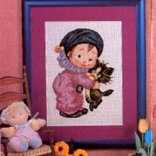 Gallery.ru / Все альбомы пользователя 363636 Pierrot, Cross Stitching, Creations, Teddy Bear, Frame, Kids, Painting, Animals, Home Decor