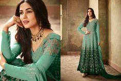 Salwar Kameez New Bollywood Designer Anarkali Salwar Suit With Naznin Dupatta KF
