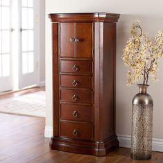 amazoncom belham living luxe 2 door jewelry armoire finish amazoncom antique jewelry armoire