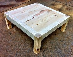 Build your own iTable. (a DIY, including plans, for building a table like those in the Apple store)