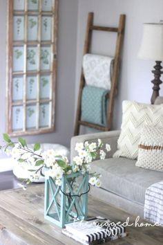 Rustic Farmhouse Living Room Decor Ideas 07
