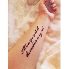 Bruce Springsteen tattoo