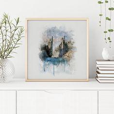 Argonath Watercolor Printable Argonath Art Print LOTR Art   Etsy Framed Wall Art, Wall Art Prints, Witcher Art, Deep Art, Digital Wall, Drawing, Custom Art, Printable Wall Art, Lotr