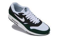 7320b05969382 Mens Nike Air Max 2014 Running Shoes 1 87 White Green Black