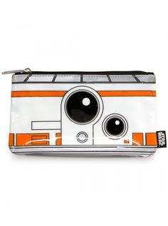 """Star Wars BB-8"" Coin Bag by Loungefly (White/Orange) #inkedshop #whiteorange #camera #bag #coinpurse #coinbag"
