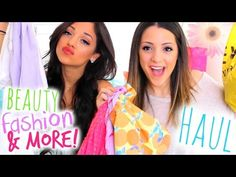 HUGE Spring Fashion + Beauty Haul 2015! F21, Francesca's, Aerie, Sephora + more! - YouTube