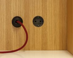 Build-in poweroutlets by Holzrausch.