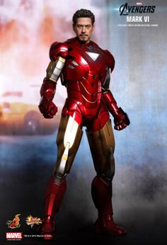 Hot toys 1/6 #avengers iron man #mms171 mk6 mark vi movie #promo edition figure u,  View more on the LINK: http://www.zeppy.io/product/gb/2/351471727478/