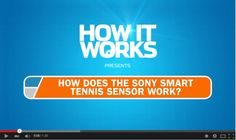 To celebrate Wimbledon 2015 we've made a video on how a great new piece of technology called the Sony Smart Sensor helps you improve your tennis!