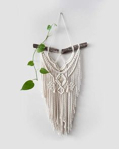 Medium Macrame Wall Hanging // tapestry // macrame decor //