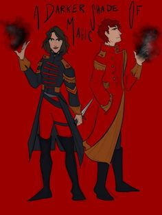 a darker shade of magic Book Characters, Fantasy Characters, Magic Tumblr, A Gathering Of Shadows, A Darker Shade Of Magic, World Of Fantasy, Dark Shades, Book Fandoms, Book Art