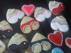 Valentines Day cookies | valentine's day sugar cookies | Just a girl