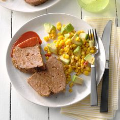 Slow-Cooker Meat Loaf Slow Cooker Beef, Slow Cooker Recipes, Crockpot Recipes, Cooking Recipes, Main Dish Salads, Main Dishes, Mexican Food Recipes, Dinner Recipes, Crock Pot Cooking