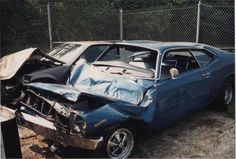 wrecked muscle cars pictures - Google Search