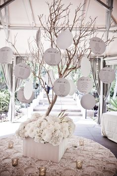 Escort Table Numbers