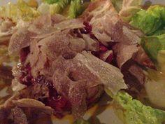 Steak tartare + white truffles