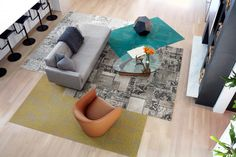 If you didn't think FLOR could get any better, prepare to be floored. Affordable Rugs, Patchwork Patterns, Global Design, Modern Interior Design, Game Room, Home Furnishings, Family Room, Flooring, Fall 2016
