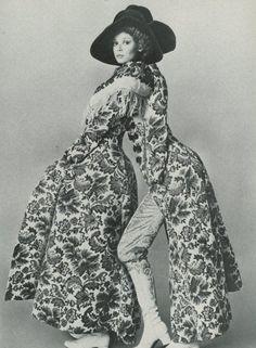 1969 Biba fashion for Vogue magazine