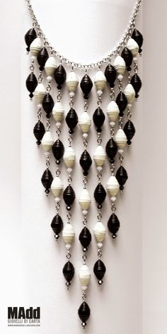 MAdd Gioielli di carta / MAdd Paper jewels: COLLANE / NECKLACES