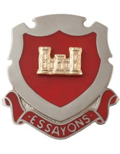 Regimental Crest Engineer (Essayons)