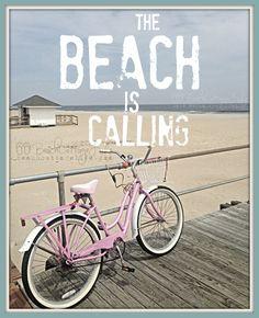 ~ Pink beach cruiser on the boardwalk ~ Pink Beach, Ocean Beach, Beach Bum, Summer Beach, Tenerife, Rosa Strand, Beach Quotes, Ocean Quotes, Beach Memes