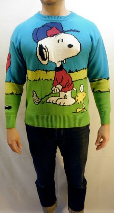 Snoopy and Friends by Bill Ditfort Sweater