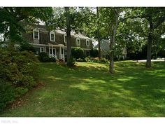 Waterfront home in Birdneck Point.  Offered by Berkshire Hathaway HS.