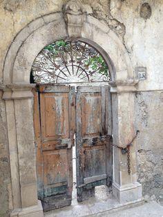 Traditional Italian door