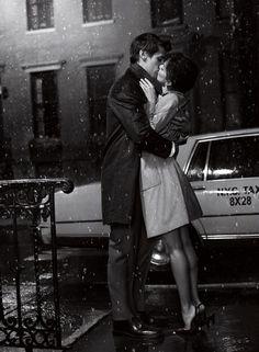 Kissing in the Rain! XoXoXo