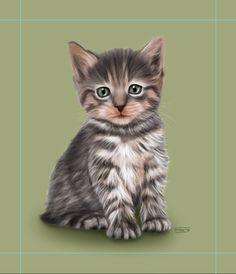 Gatet (pas a pas) | Gatito (paso a paso) | Kitten (step-by-step)