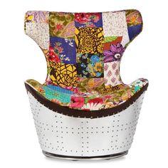 sillón huhi india patchwork