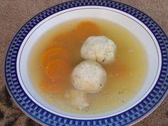 Herbed Matzo Ball Soup.