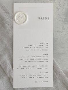 Wedding Name Tags, Wedding Table Names, Wedding Menu Cards, Wedding Table Settings, Wedding Signage, Personalised Wedding Invitations, Luxury Wedding Invitations, Wedding Stationary, Personalized Wedding