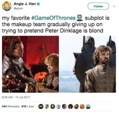 "Here Are All The Funniest Tweets About ""Game Of Thrones"" Season 7"