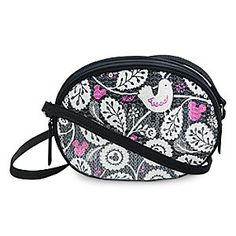 Mickey Meets Birdie Shimmer Crossbody Bag by Vera Bradley | Disney Store Bring glamour to your everyday with the Mickey Meets Birdie Shimmer Crossbody Bag by Vera Bradley. Adorned with sequins atop our playful pattern, this fashion bag will earn you compliments on your Disney style.