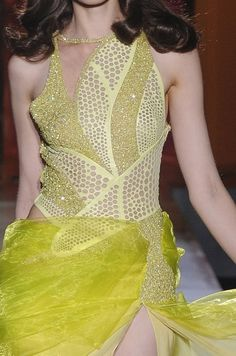 Atelier Versace + how-to honeycomb cut-and-paste