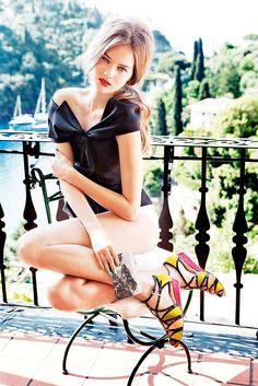 Dior cruise 2012 Monika Jagaciak by Ellen Von Unwerth
