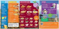 Kids Eat Happy at Denny's {And Sometimes They Eat Free Too! Eat Happy, Kids Menu, New Menu, Lemonade, Oreo, Yummy Food, Lunch, Foods, Chocolate