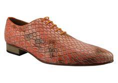 Mascolori Shoes - Serpiente Naranja - Casual Friday