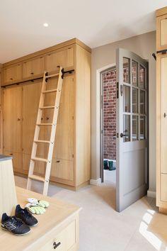 Boot Room Storage, Tall Cabinets, Bootroom, Interior Architecture, Interior Design, Bespoke Furniture, Bespoke Design, Modern Materials, High Level