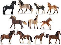 schleich family horse | World of Horses Pferde 2016 Neuheiten 11er Set Schleich
