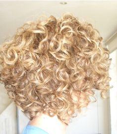 short curly inverted bob hairstyles - Google Search