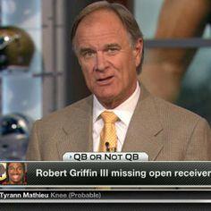 QB, or not QB: Washington Redskins quarterback Robert Griffin III