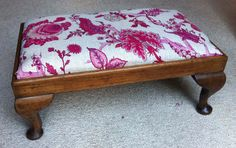 Footstool finished