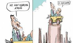 @marianorajoy eligiendo la dirección a tomar #humor #crisis #nosrobanlacartera