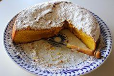 El festín de Marga: Torta de maíz (Bizcocho gallego de maíz)