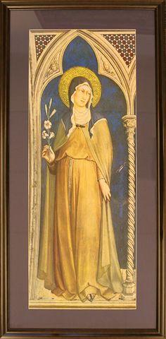 Santa Clara de Asis, Simone Martini, Flor Juárez
